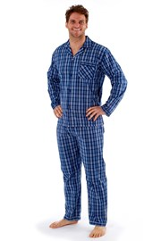 Pyjama Harvey Blue Check Long