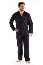 Pyjama Harvey Black Check Long