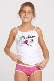 Kinder-Set Slip und Trikot Marika Pink