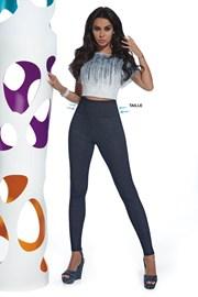 Damen Leggings im Jeans-Design Blair