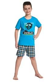 Pyjama für Jungen Blue Monkey