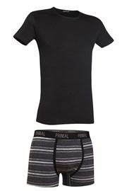 Herren-Set T-Shirt und Boxershorts Primal 162B
