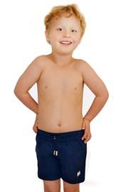 Kinder Badeshorts Leonard Navy Blue