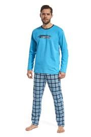 Blauer Pyjama Display