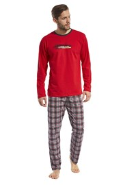 Roter Pyjama Display