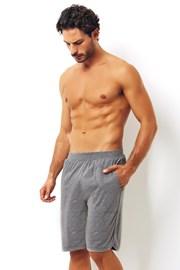 Graue Shorts aus Baumwolle
