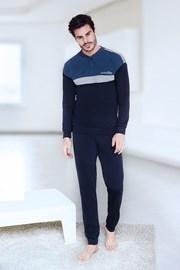 Blaues Homewear-Set Bernardo