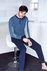 Blaues Homewear-Set Alberto