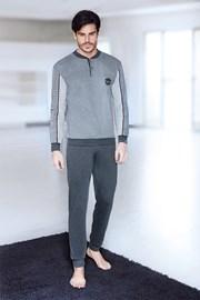 Graues Homewear-Set Alberto