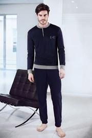 Blaues Homewear-Set Adriano