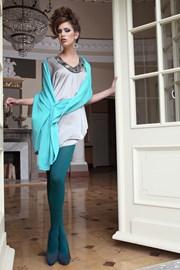 Elegante Strumpfhose Glamour Soft Green