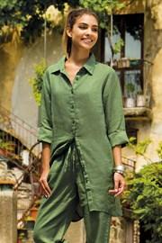 Leinen Hemdkleid Sherie Green aus der Kollektion Iconique