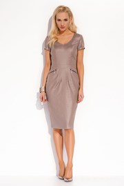 Luxuriöses Kleid aus Leinen Karissa 020