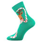 Fröhliche Socken Rentier Rudolf