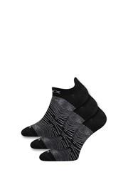 3er-Pack schwarze Socken Rex