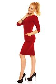 Kleid für Damen mit Taschen Simona