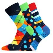3er-Pack modischer Socken Woodoo MixA