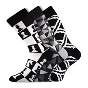 3er-Pack modischer Socken Woodoo MixC
