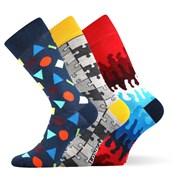 3er-Pack modischer Socken Woodoo MixD