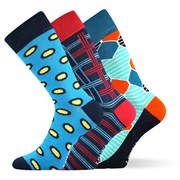 3er-Pack modischer Socken Woodoo MixE