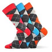3er-Pack modischer Socken Woodoo MixF