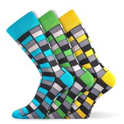 3er-Pack modischer Socken Woodoo MixG