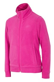 Fleece-Sweatshirt für Mädchen Pink 4f