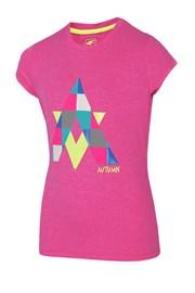 Mädchen-T-Shirt Autumn Pink